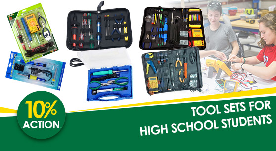 Tool sets for high school students